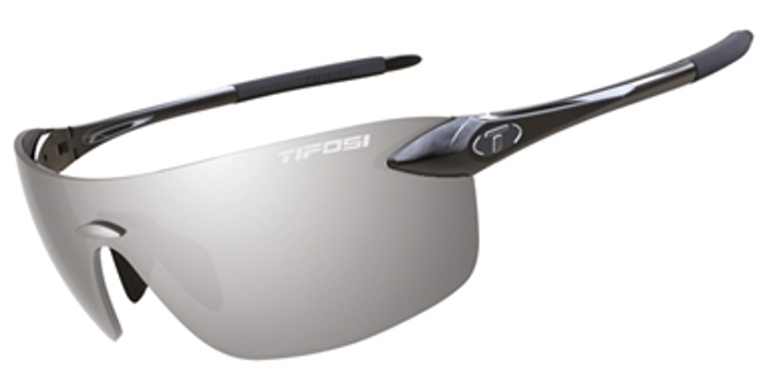 Tifosi Vogel Gloss Black/Smoke Glasses