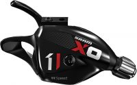 Sram X01 11 Speed Rear Trigger Shifter with Discrete Clamp Black/Red