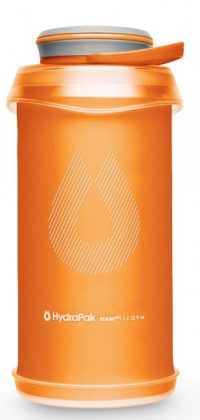 Hydrapak Stash Collapsible Bottle 1L Orange