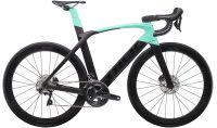 Trek Madone SLR 6 Disc Womens Road Bike 2019 Matte Black/Miami Green
