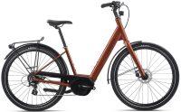 Orbea Optima E50 I9 Electric Bike 2019 Orange
