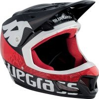 Bluegrass Brave Helmet - M White-Red | Helmets