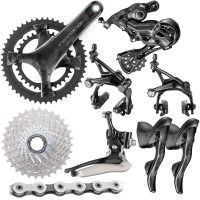 Campagnolo Record Groupset (12 Speed) - 172.5mmx36/52-11/32t Black
