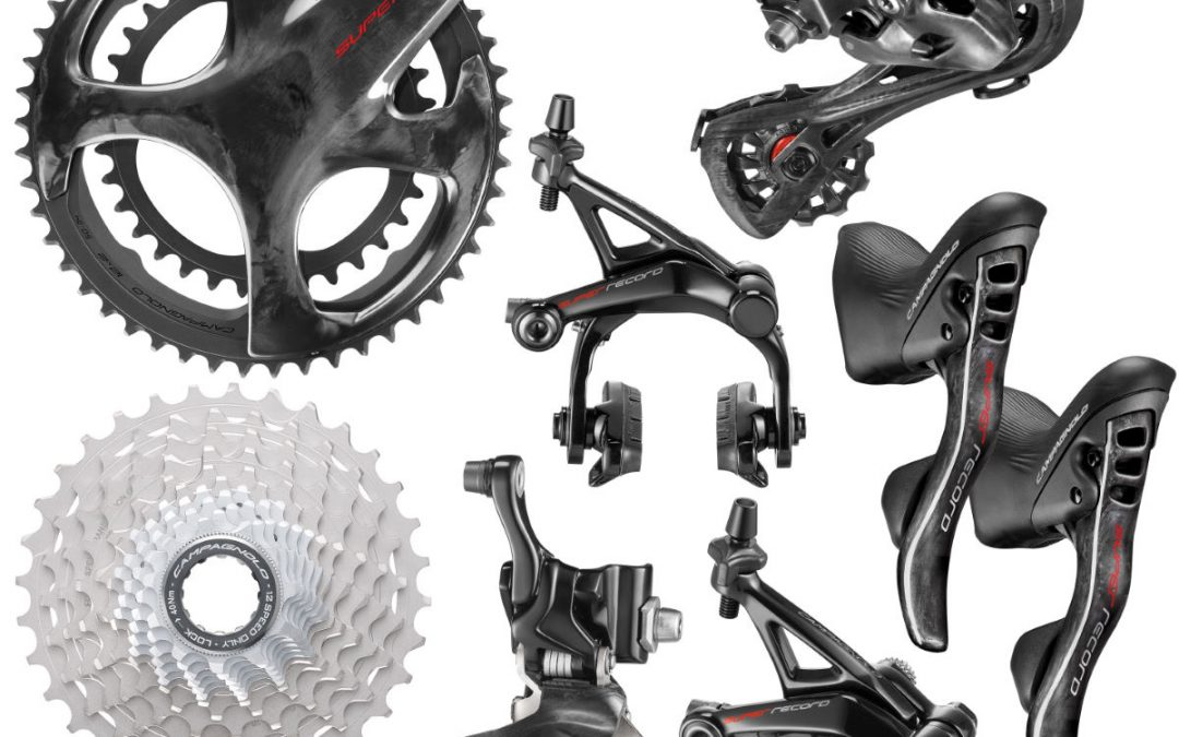 Campagnolo Super Record Groupset (12 Speed) – 172.5mm 34/50-11/32t