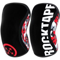 Rocktape Assassin Knee Sleeves (7mm) - XS Red Camo | Knee Supports