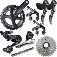 Shimano Ultegra R8000 11 Speed Groupset - 172.5mm 50.34 11-28 Grey
