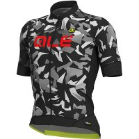 Alé Graphics PRR MC Glass Jersey - Black-Grey - XS