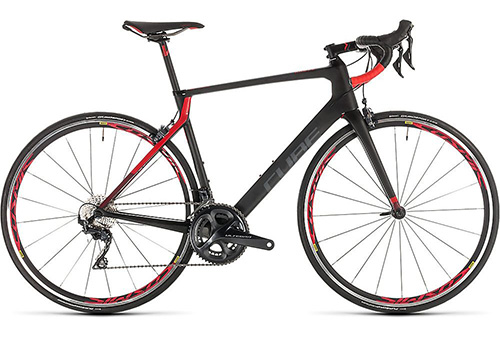 Cube Agree C:62 Pro Road Bike 2019 – Carbon – Red – 60cm (23.5″), Carbon – Red