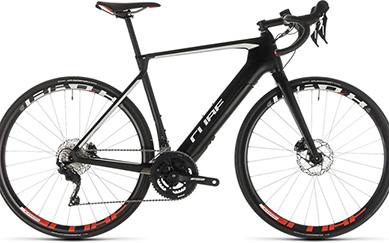 Cube Agree Hybrid C:62 Race Electric Road Bike 2019 Carbon/White