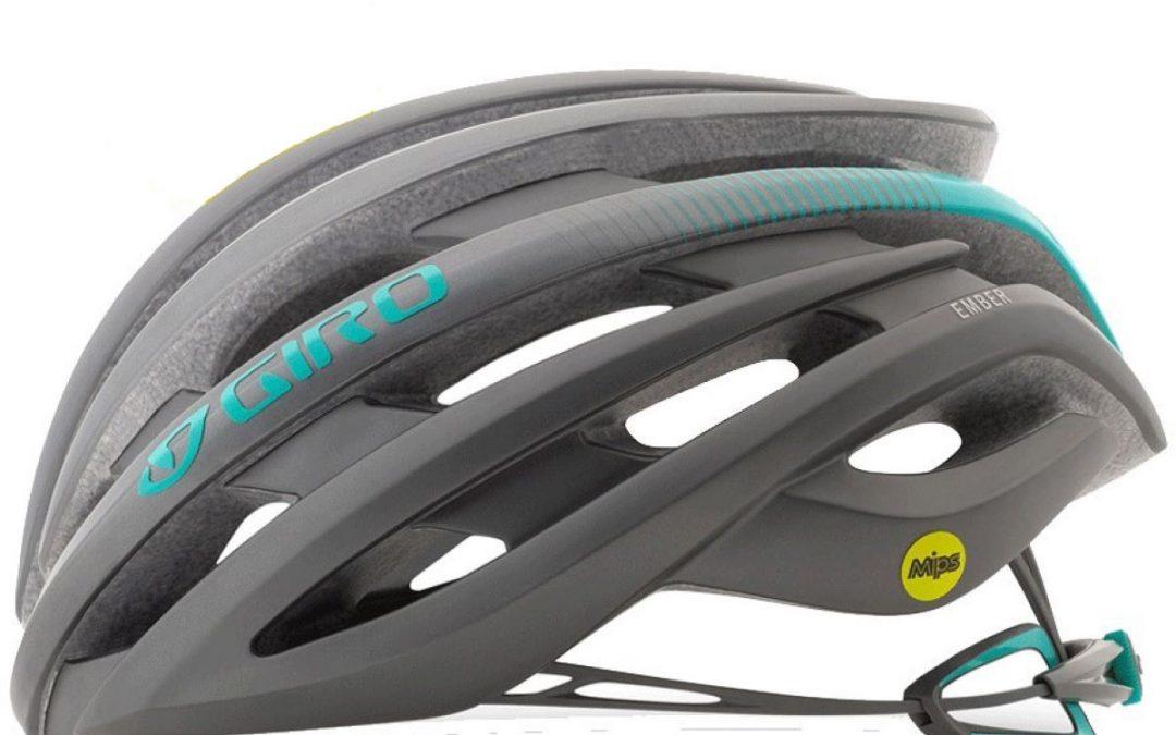 Giro Ember Women's Helmet (MIPS) – S Silver/Green | Helmets