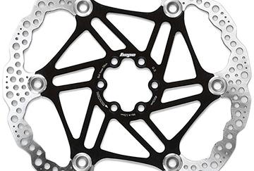 Hope Floating Disc Brake Rotor – Black – 220mm, Black