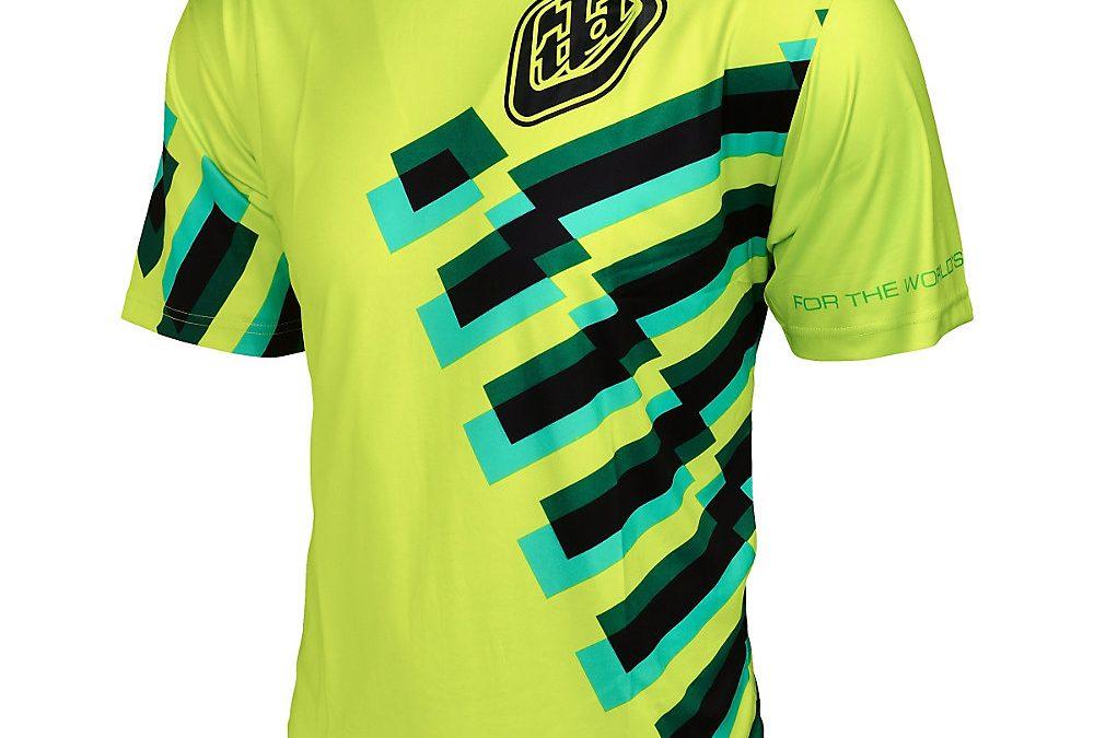 Troy Lee Designs Skyline Force Jersey – Flo Yellow, Flo Yellow
