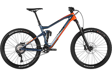 Vitus Sommet CR Carbon FS Bike – SLX 1×11 2018 – Slate Blue – Orange – 52cm (20.5″), Slate Blue – Orange